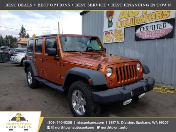 Photo 2010 Jeep Wrangler Unlimited Rubicon - $21980 ($500 down youre approved)