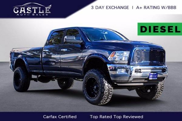 Photo 2012 Ram 2500 Diesel 4x4 4WD LIFTED Dodge Big Horn Truck - $42,000 (Ram 2500 Big Horn)