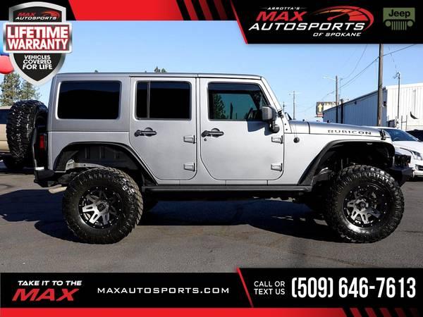 Photo 2014 Jeep Wrangler Unlimited Rubicon LIFTEDWHEELSBUMPERSWINC - $40,830 (Max Autosports of Spokane)