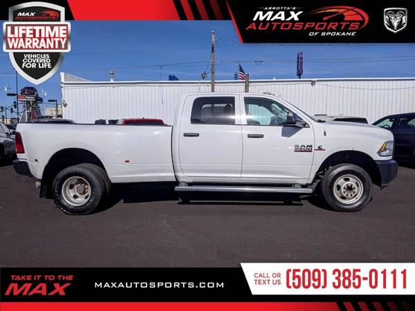 Photo 2015 Ram 3500 Tradesman Pickup FOR SALE. Trades Welcome - $31999 (Max Autosports of Spokane)