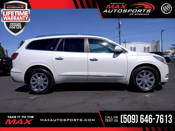 Photo 2016 Buick Enclave Premium AWD 3RD 3 RD 3-RD ROW LOADED - $29,530 (Max Autosports of Spokane)