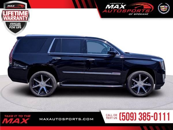 Photo 2016 Cadillac Escalade Luxury Collection SUV on SALE NOW - $48999 (Max Autosports of Spokane)