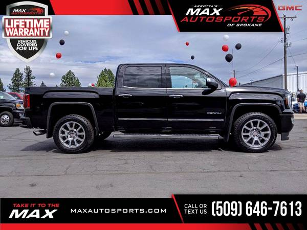 Photo 2016 GMC Sierra 1500 Denali Pickup with a GREAT COLOR COMBO - $39,980 (Max Autosports of Spokane)
