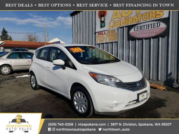 Photo 2016 Nissan Versa Note S PLUS - $6,980 ($500 down youre approved)