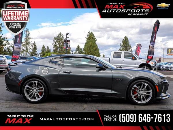 Photo 2017 Chevrolet Camaro 2SS 2 SS 2-SS 50TH 50 TH 50-TH AN - $41,680 (Max Autosports of Spokane)