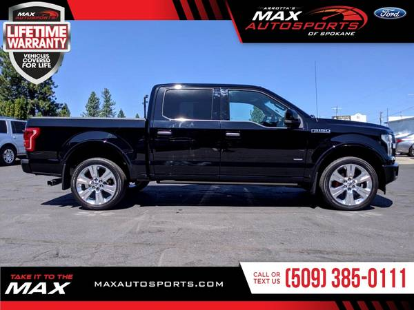 Photo 2017 Ford F-150 LIMITED ECOBOOST Pickup in GREAT CONDITION - $53,999 (Max Autosports of Spokane)