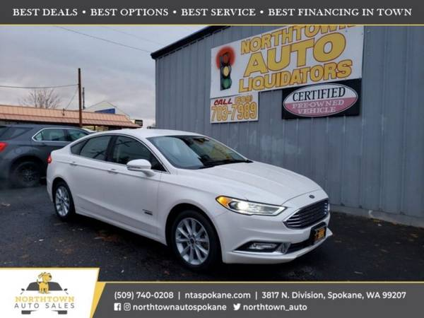 Photo 2017 Ford Fusion Energi SE - $18980 ($500 down you39re approved)