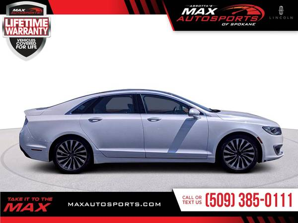 Photo 2017 Lincoln MKZ Black Label Sedan at a HUGE DISCOUNT - $29296 (Max Autosports of Spokane)