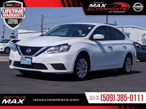 Photo 2017 Nissan Sentra SV Sedan BEAUTIFUL inside and out - $12,980 (Max Autosports of Spokane)