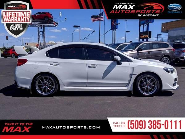 Photo 2017 Subaru WRX STI Limited Sedan - PRICE ROLLBACK - $34980 (Max Autosports of Spokane)