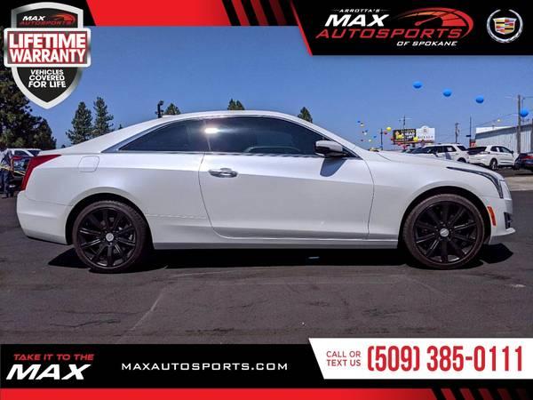 Photo 2018 Cadillac ATS Premium Luxury AWD only 2700 miles Coupe that TURNS - $41,980 (Max Autosports of Spokane)