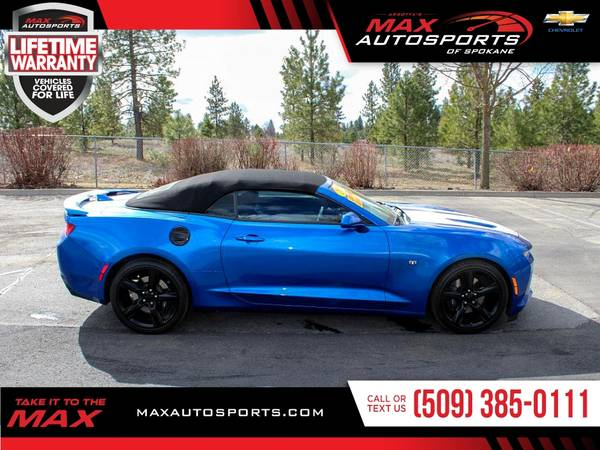 Photo 2018 Chevrolet Camaro 2SS 2 SS 2-SS Convertible for ONLY $513 - $39999 (Max Autosports of Spokane)