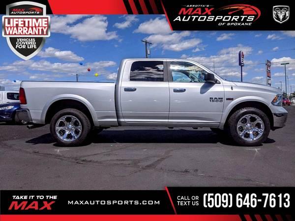 Photo 2018 Ram 1500 $486 mo LIFETIME WARRANTY - $35,680 (Max Autosports of Spokane)