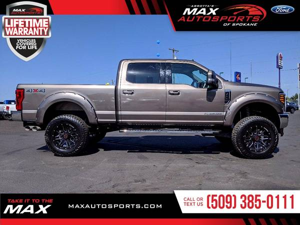 Photo 2019 Ford F-350 LARIAT MAXED OUT LIFTED 37INCH TIRES from sale in Spok - $69,980 (Max Autosports of Spokane)