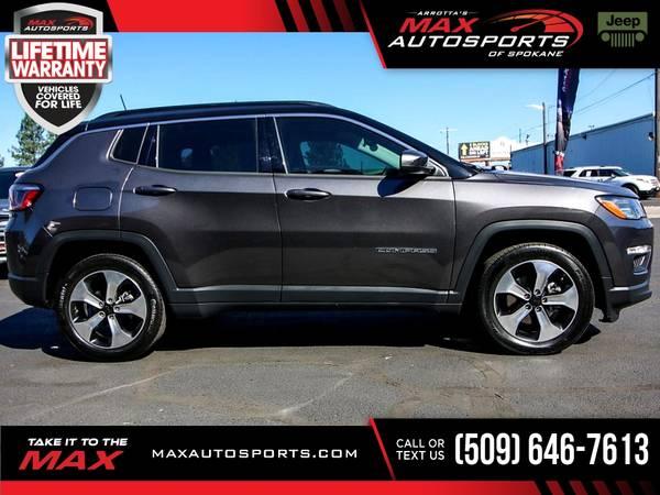 Photo 2019 Jeep Compass Latitude $365 mo - LIFETIME WARRANTY - $26,980 (Max Autosports of Spokane)