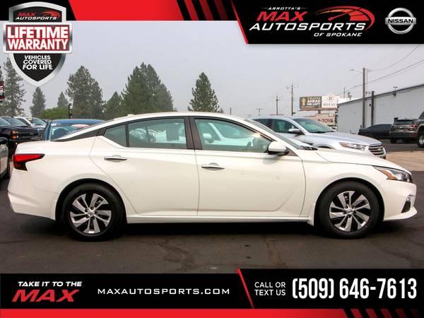 Photo 2019 Nissan Altima 2.5 MAXED OUT $295 mo - LIFETIME WARRANTY - $24,849 (Max Autosports of Spokane)