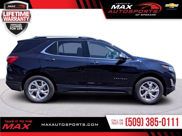 Photo 2020 Chevrolet Equinox Premier with ONLY 16,015 Miles - $33999 (Max Autosports of Spokane)