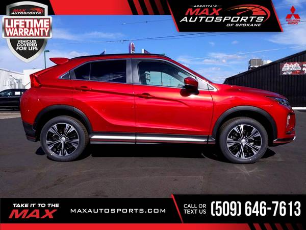 Photo 2020 Mitsubishi Eclipse Cross SEL SUV 12 $527 mo LIFETIME WARRA - $38,999 (Max Autosports of Spokane)