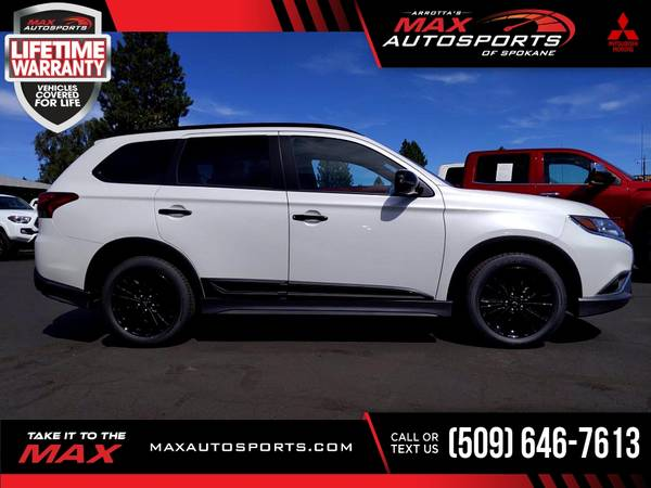 Photo 2020 Mitsubishi Outlander SP $500 mo - LIFETIME WARRANTY - $36,999 (Max Autosports of Spokane)