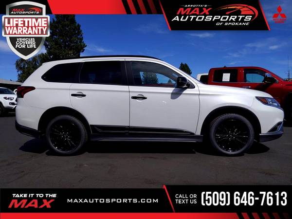 Photo 2020 Mitsubishi Outlander SP SUV 8 $500 mo LIFETIME WARRANTY and - $36,999 (Max Autosports of Spokane)
