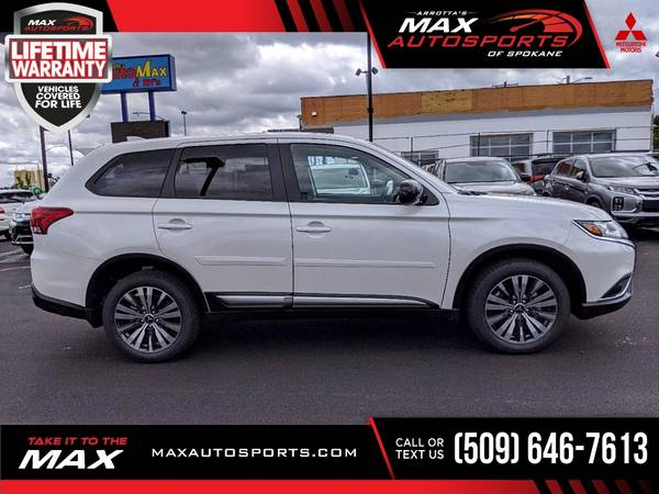 Photo 2020 Mitsubishi Outlander SP SUV with a GREAT COLOR COMBO - $34,500 (Max Autosports of Spokane)