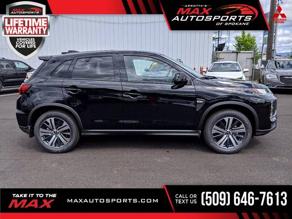 Photo 2020 Mitsubishi Outlander Sport ES 2.0 SUV 12 $405 mo LIFETIM - $29,999 (Max Autosports of Spokane)