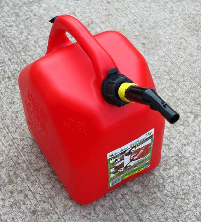 Photo 5 Gallon Gas Can Tank - $10 (Moscow, ID)