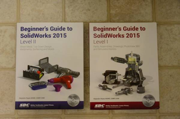 Photo Beginner39s Guide to SolidWorks 2015 - Level 2 by Alejandro Reyes - $8 (Pullman)