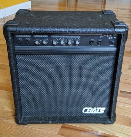 Photo Crate KX-15 KeyboardBass Amplifier Amp - $50 (Moscow)
