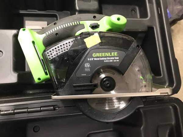 Photo Greenlee 14.4 volt circular saw - $50 (Post Falls)