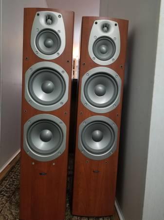 Photo Infinity Beta 50 Tower Speakers - $300 (Pullman)