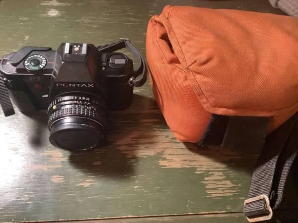 Photo Pentax P3 35mm SLR Film Camera wCase - $100 (Coeur d39Alene)