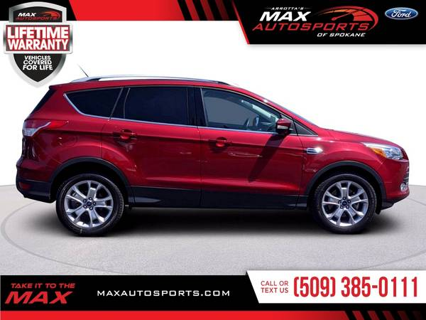 Photo Stunning 2016 Ford Escape Titanium priced to sell - $27980 (Max Autosports of Spokane)