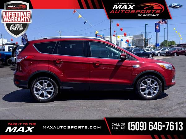 Photo Stunning 2016 Ford Escape Titanium priced to sell - $27,980 (Max Autosports of Spokane)