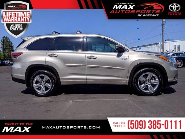 Photo This 2015 Toyota Highlander Limited Hybrid is still available - $32,988 (Max Autosports of Spokane)