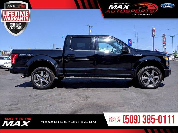 Photo This 2016 Ford F-150 XLT SPORT PACKAGE is the BEST DEAL IN TOWN - $37,980 (Max Autosports of Spokane)