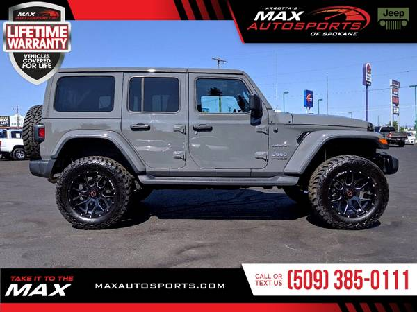 Photo This 2020 Jeep Wrangler Unlimited Sahara High Altitude is the BEST DEA - $48,980 (Max Autosports of Spokane)