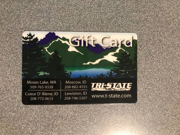 Photo Tri State Gift Card $100 value - $85 (Moscow)