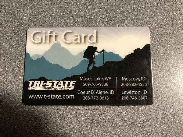 Photo Tri state gift card up for barter - $1 (Moscow)