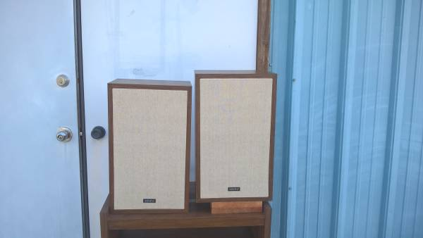 Photo Vintage Advent 9 Speakers - $105 (Moscow)
