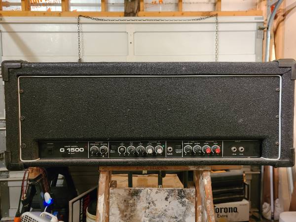 Photo 1980s Crate Amp - $50 (Galesburg)