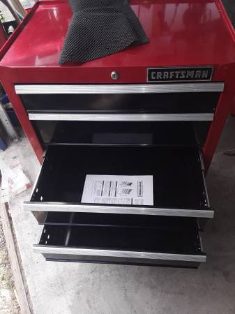 Photo 4 drawer craftsman toolbox - $100 (East Moline)