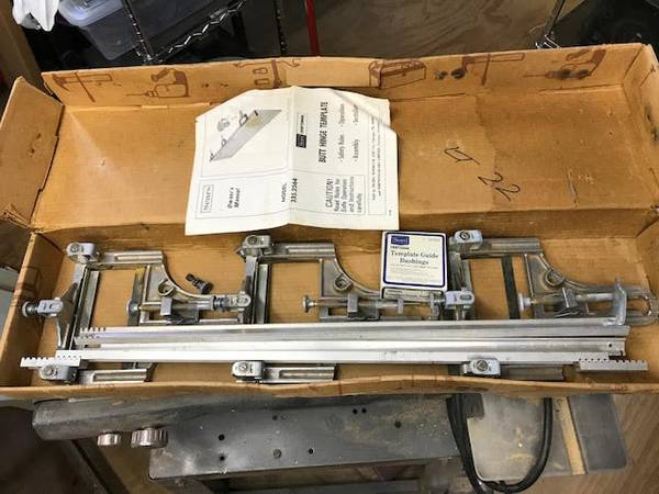 Photo Craftsman butt hinge routing fixture - $30 (Muscatine)