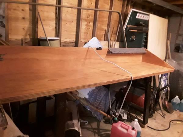 Photo Custom Made Workbench (Reduced) - $200 (Silvis, IL)