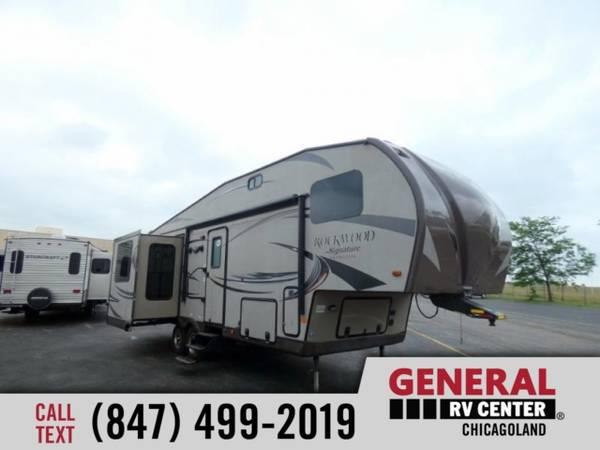 Photo Fifth Wheel 2015 Forest River RV Rockwood Signature Ultra Lite 8282WS - $25,999 ($0)