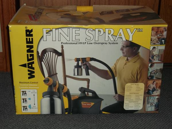 Photo Fine Spray HVLP Paint System Wagner - $75 (east moline)