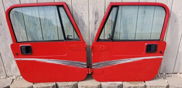 Photo Jeep wrangler yj 87-95 full doors - $400 (Geneseo)