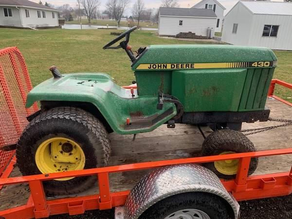 Photo John Deere 430 part out Let me know your needs 318 322 755 855 - $2050 (Cambridge, IL)