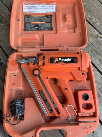 Photo Paslode Cordless Framing Nailer - $50