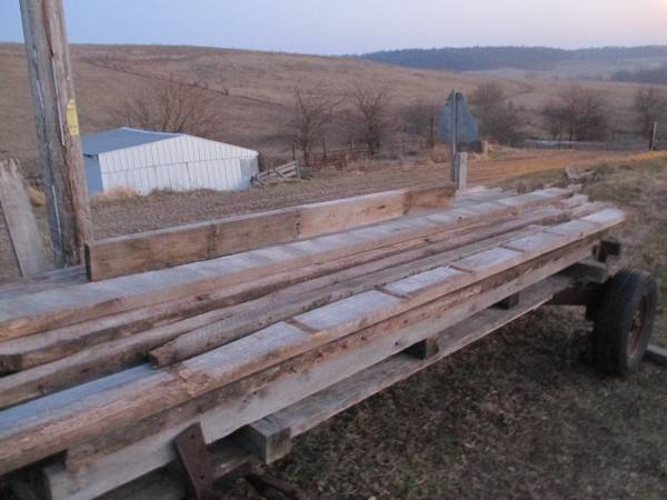 Reclaimed Barn Wood-White Oak - $90 (Stockton Illinois ...